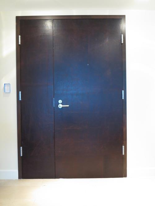Leather Suite Door